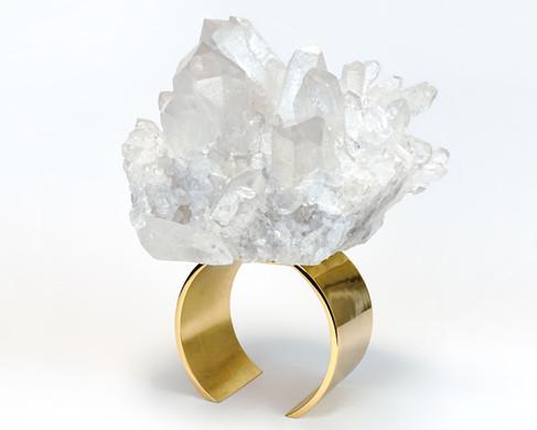 Quartz Ring Sculpture