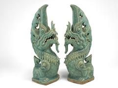 Ceramic-Foo dog-Green.jpg