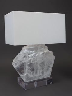 Selenite Sail Table Lamp