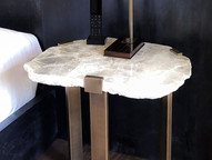 C-CLAMP SIDE TABLE