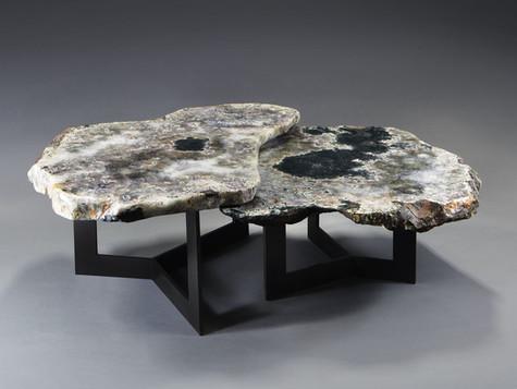 NESTED TRI-FOIL TABLE