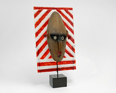 Ceremonial tribal mask