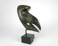 O-2242-MA AFRICAN BIRD MASK _x13_H  825_