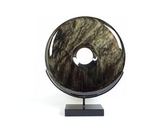 Large Obsidian Disk