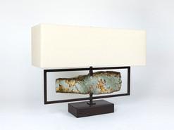 Horizontal Ocean Jasper Desk Lamp