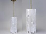 Selenite Cylinder Pendant