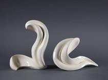 Lucia Ceramic Duo Sculpture