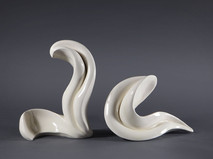 Lucia Ceramic Duo Sculpture