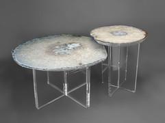NESTED ACRYLIC BASE TABLE