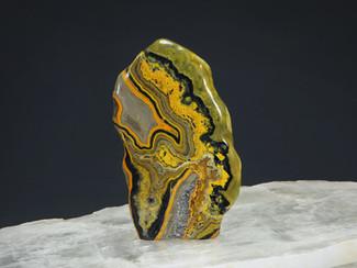 Bumblebee Jasper Sculpture