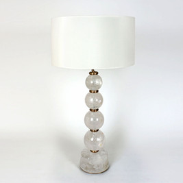 Regis Rock Crystal Table Lamp