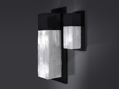 Seville Selenite Sconce , Single Sided