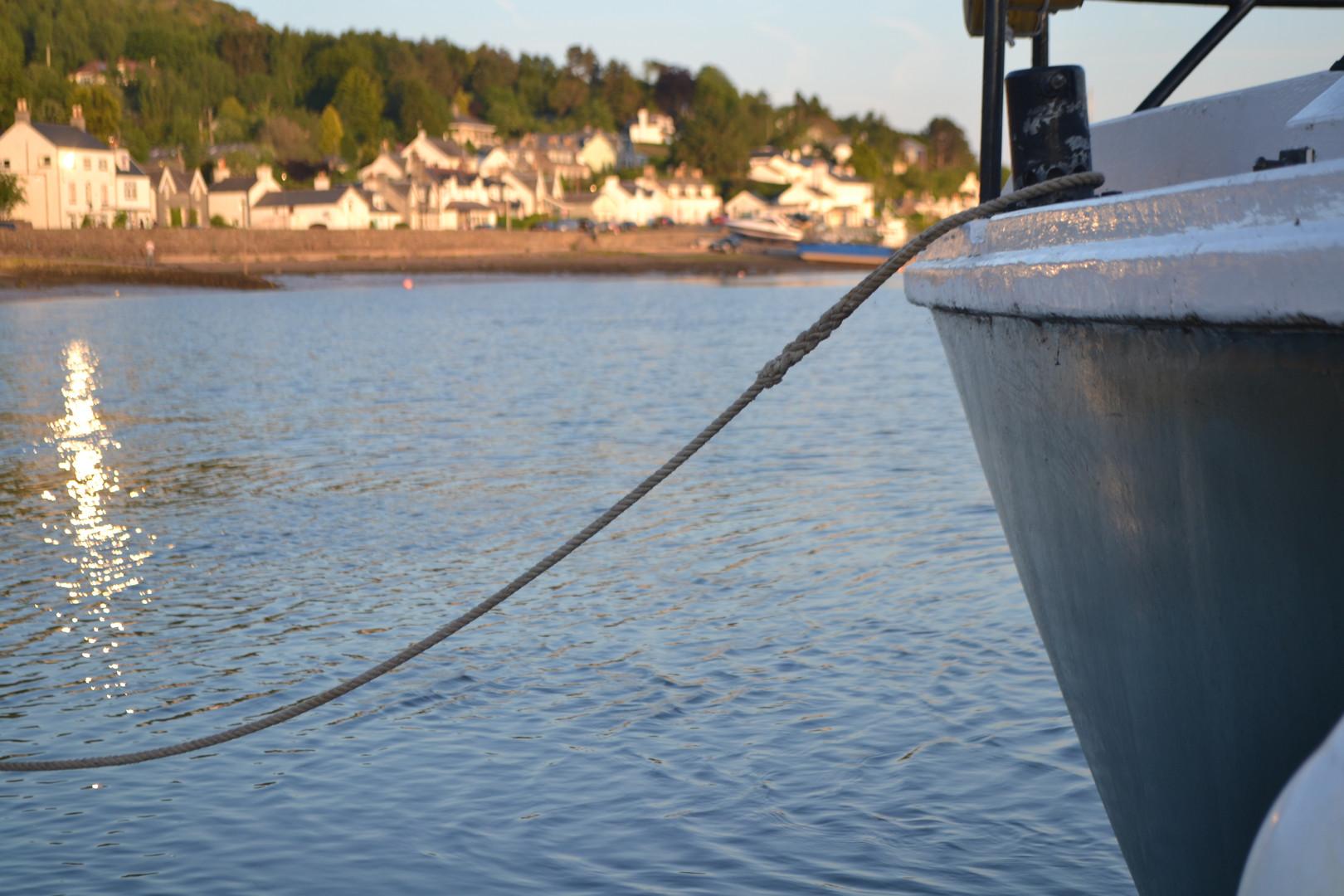 Kippford on the Urr Estuary.