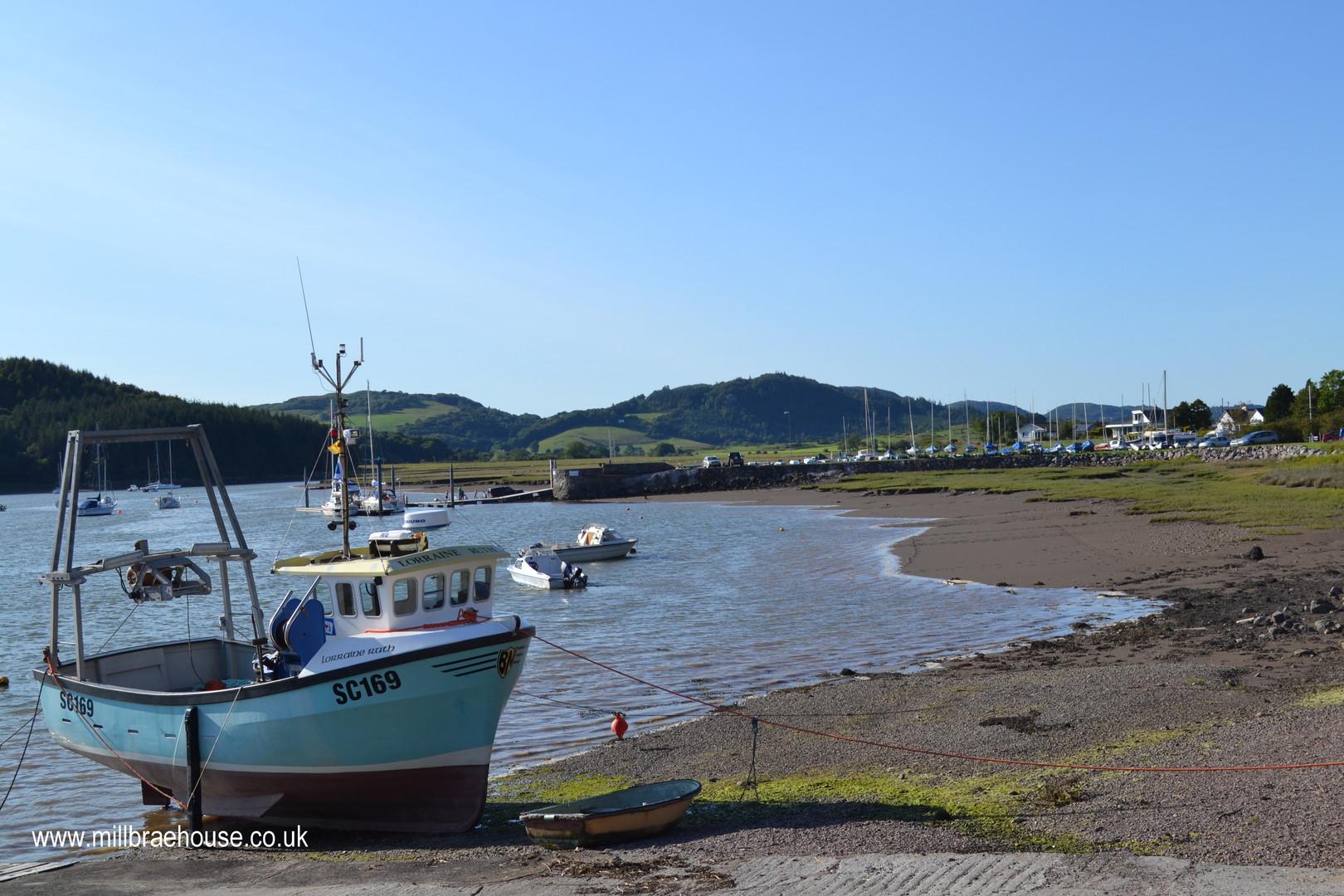 Kippford Urr Estuary