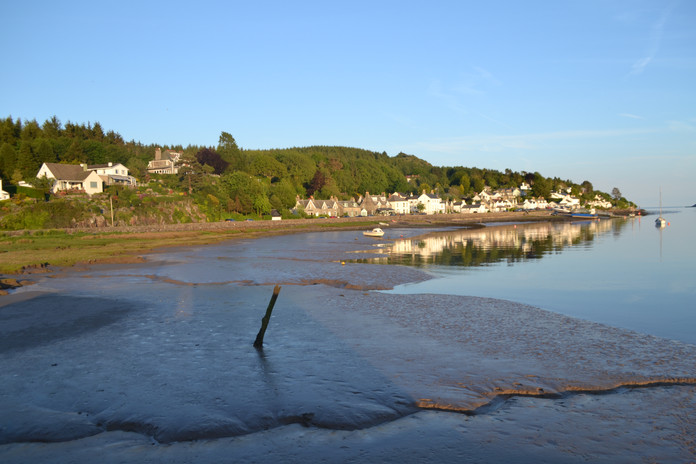 Kippford at Low Tide
