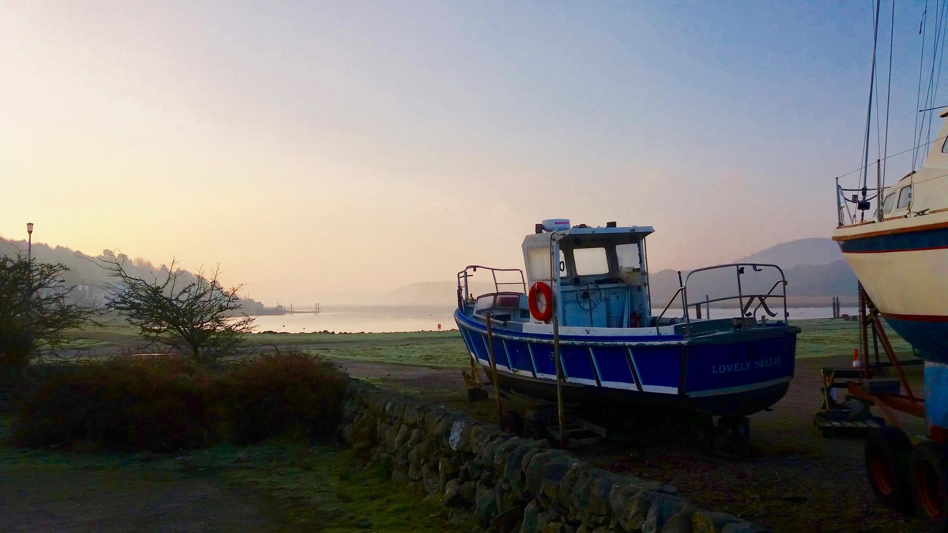 Kippford Boat in January