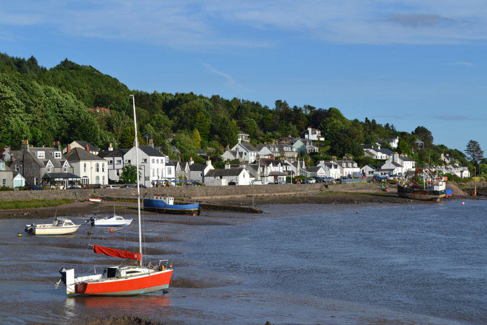 Kippford on the Solway