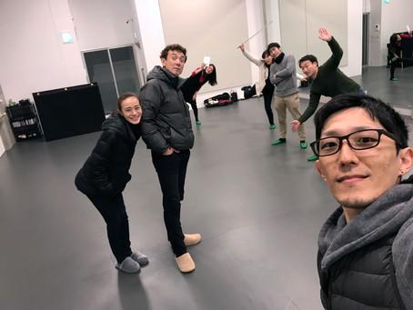 浅草バレエスタジオ訪問2回目