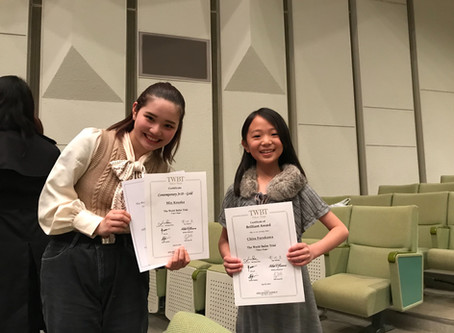 Gold Award(第1位)、Choreographic Award(コンテンポラリー振付賞)、他