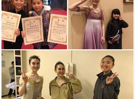 PIBC Winterコンクール 第1位&第5位&審査員特別賞&指導者賞
