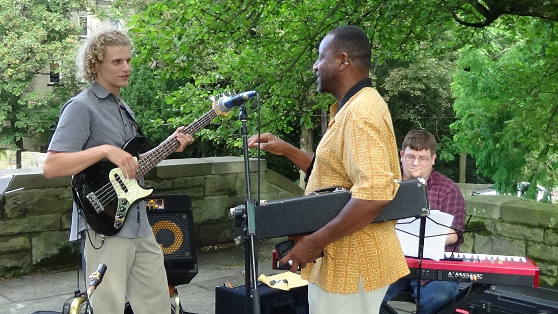 Jazz Stars at Riverview Park, July 3
