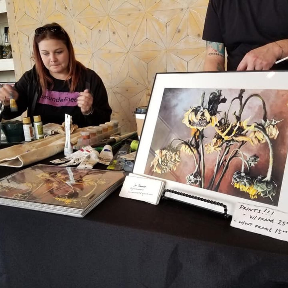 SAVOR Art Event Jon Ramon Print