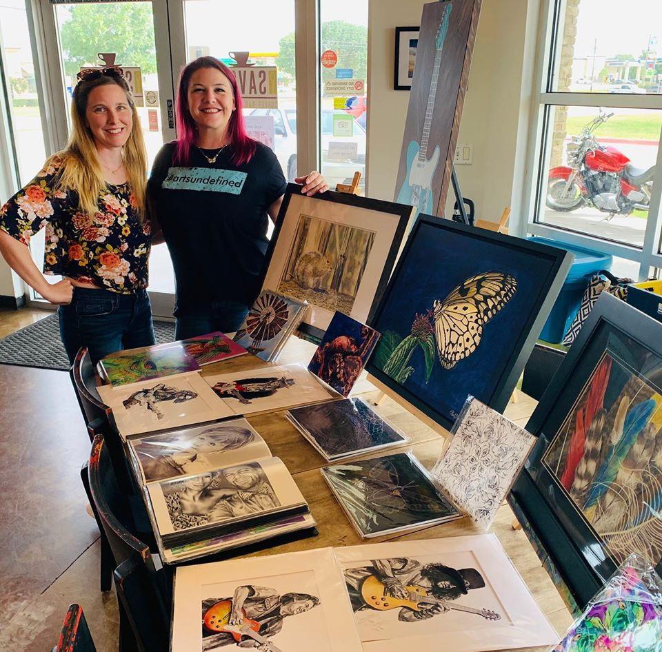 Arts Undefined Art Event at Savor