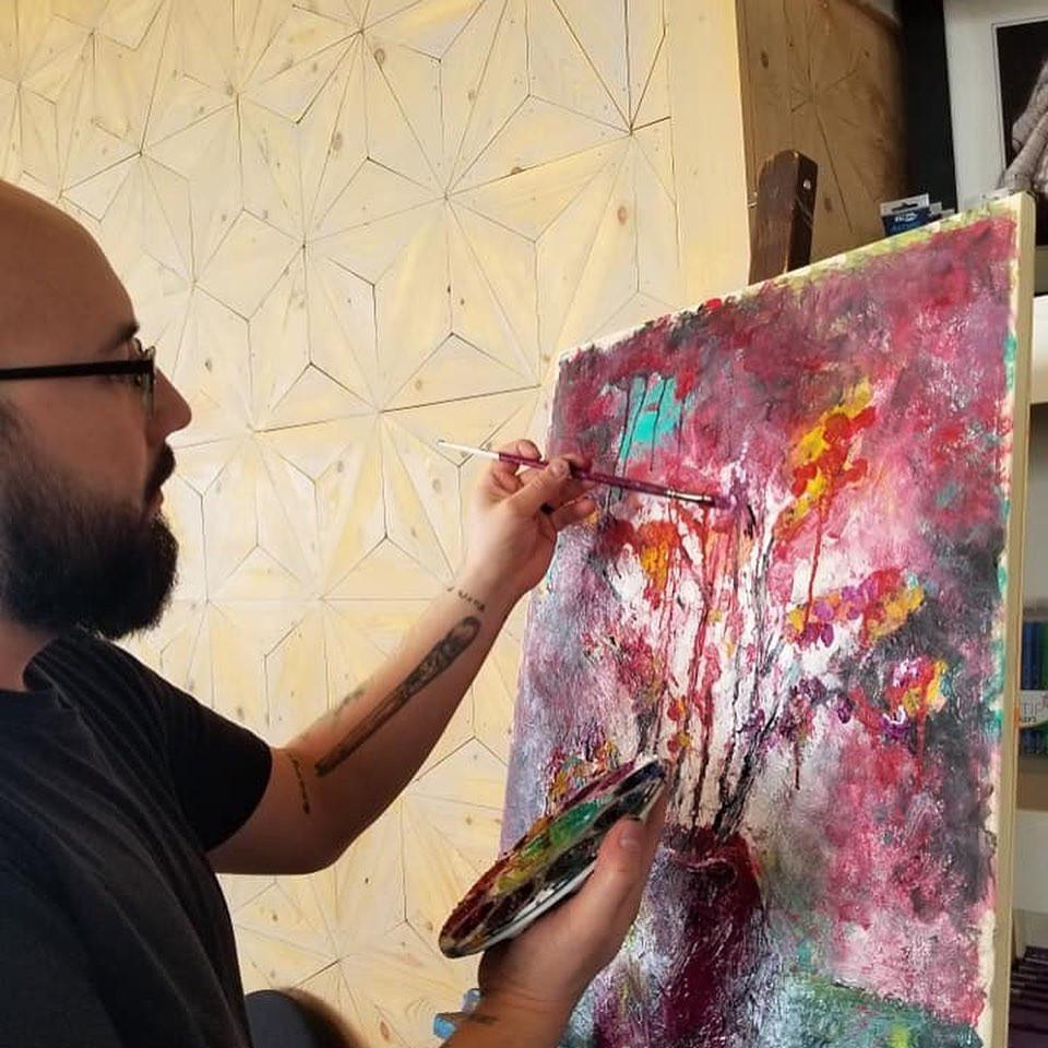 SAVOR Jon Ramon Painting