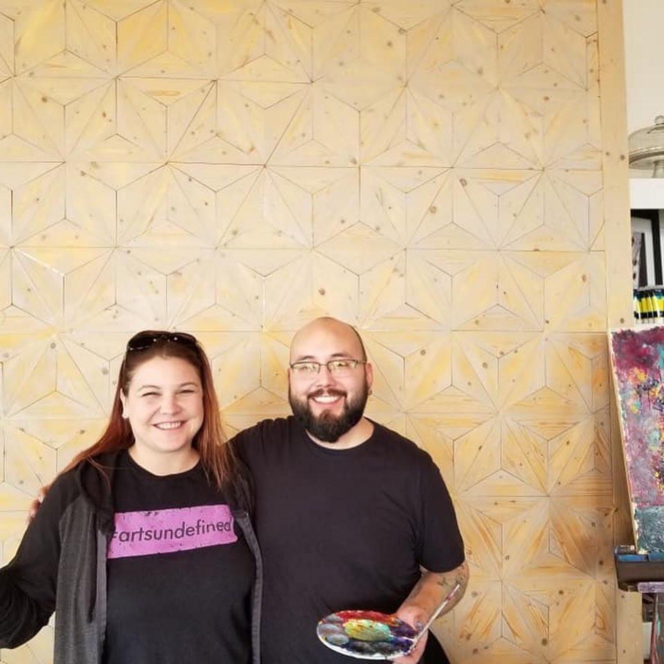 SAVOR Art Event JonRamon & WendyMonique