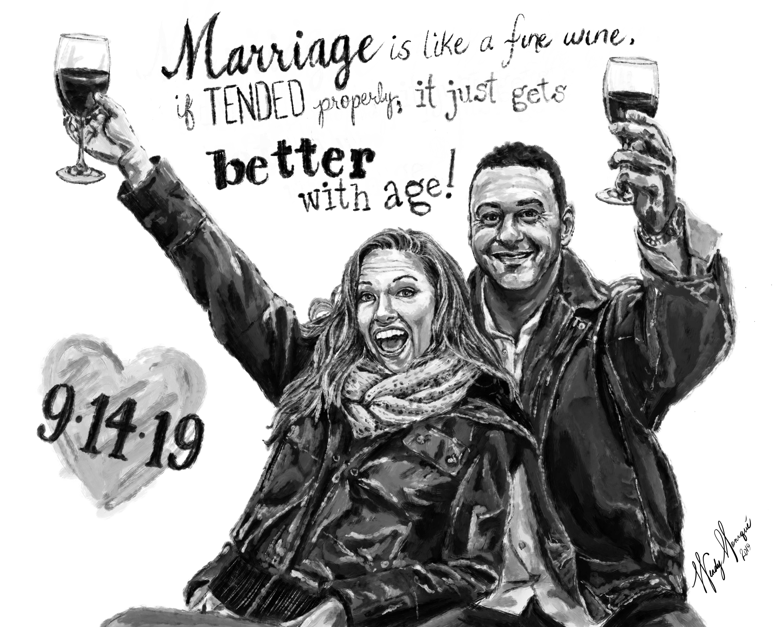 A&D Wedding Gift web