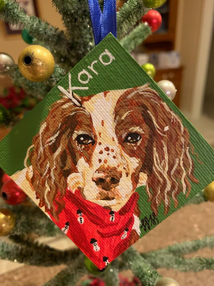 Pretty Kara Ornament