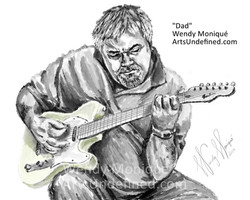 07272019 Daily Doodle Dad Guitar WEB