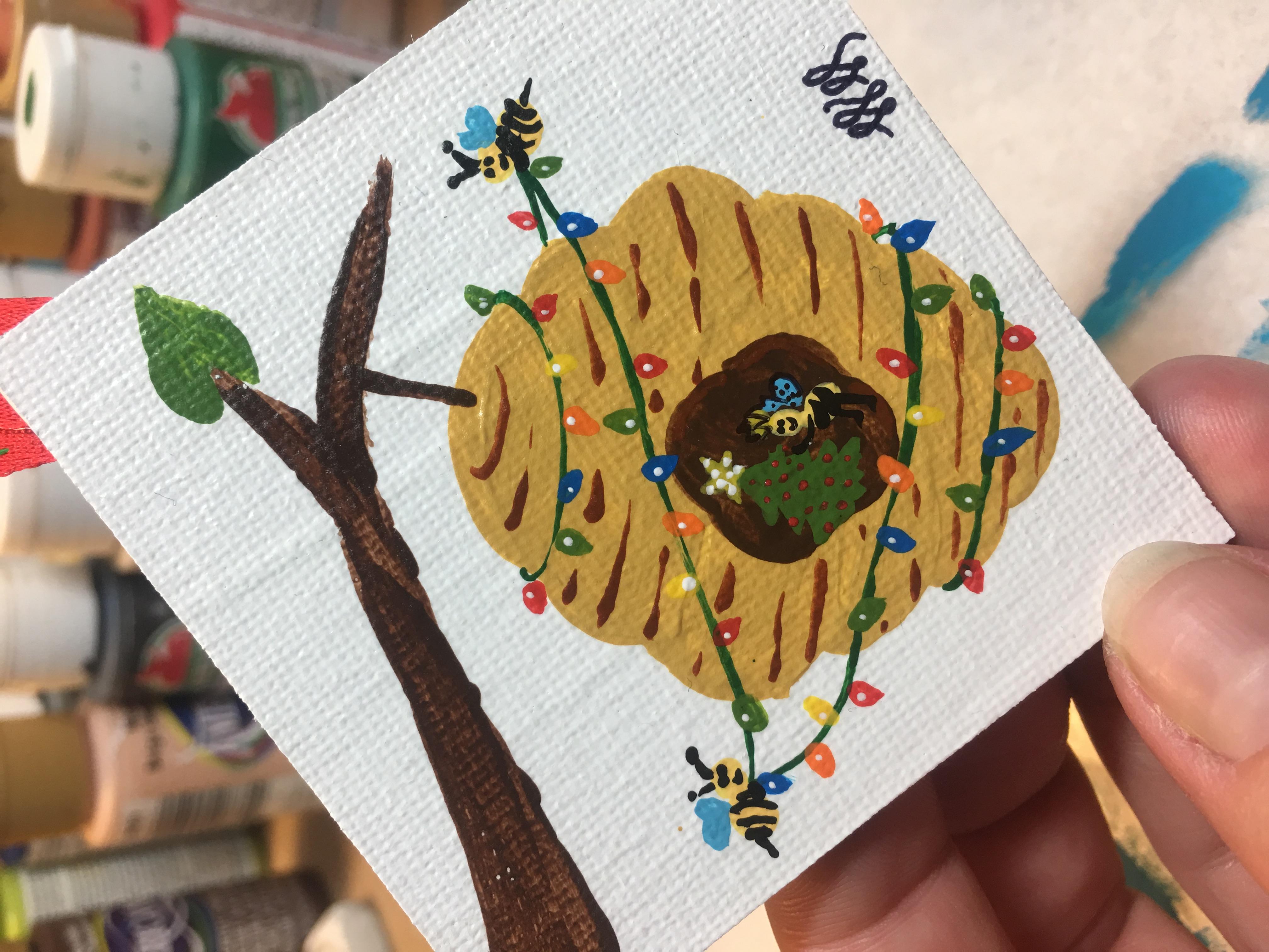 Bees Christmas