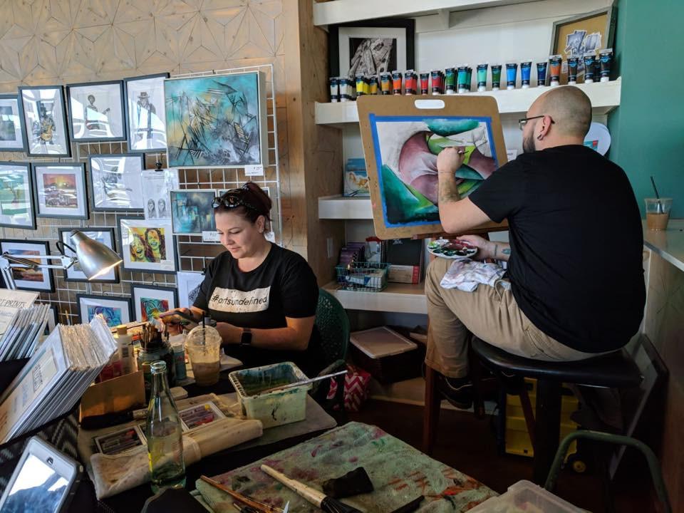 Pop Up Art Event with Jon Ramon