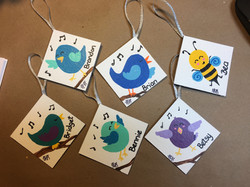 Singing Birds (Custom Ornaments)