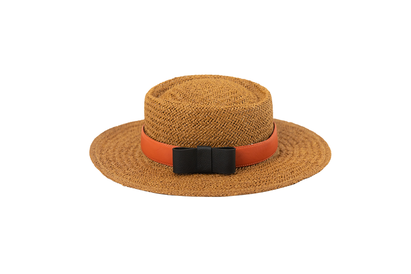 CHIC SUMMER RATTAN HAT
