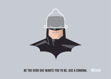 batman UCLan Student union poster
