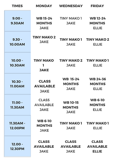Morning Timetable - Term Three 2020.png
