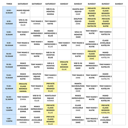 Weekend Timetable - Term Three 2020 (7).