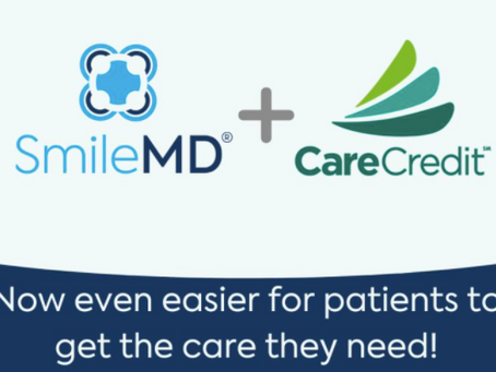 SmileMD Now Taking CareCredit!