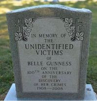 How many did Belle Gunness actually kill?
