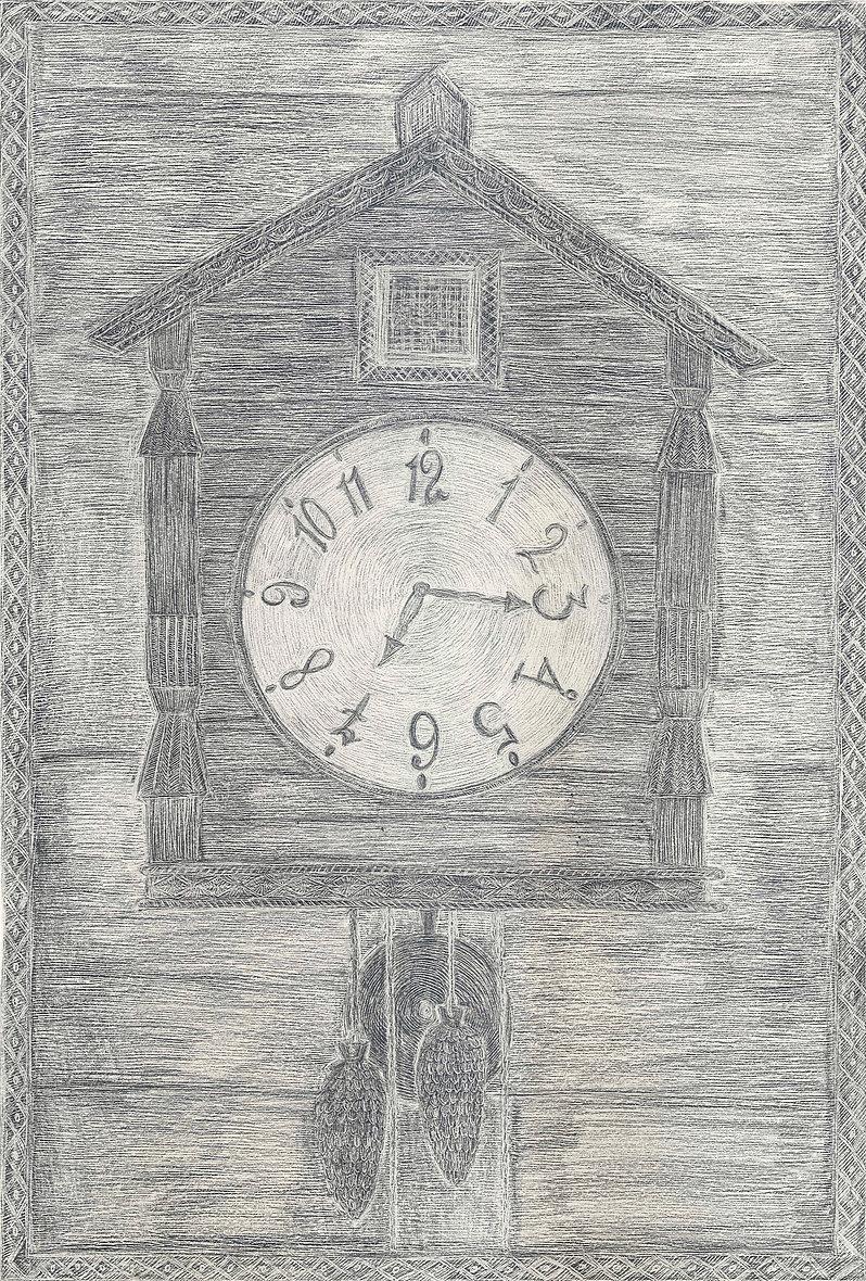 Alexandra Zuckerman_Cuckoo Clock_2012_Pe