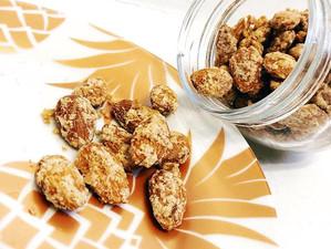 Cinnamon Sugar Almonds