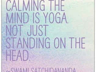 I'm not a yogi?