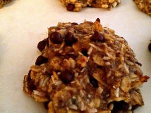 Chia Oatmeal Cookies (GF, DF)