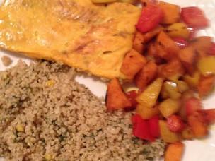 Moroccan Style Salmon