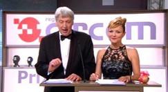 Presentación de la gala CIRCOM (300 Televisiones públicas de Europa en Santiago de Compostela)