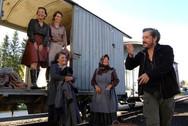 """Foto de rodaje de la película """"Ispansi"""" (Suiza)"""