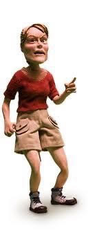 Muñeca de Plastilina Peregrina Alemana (O Apóstolo, stop-motion film)