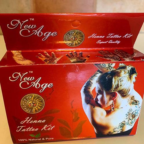 New Age Henna Tattoo Kit